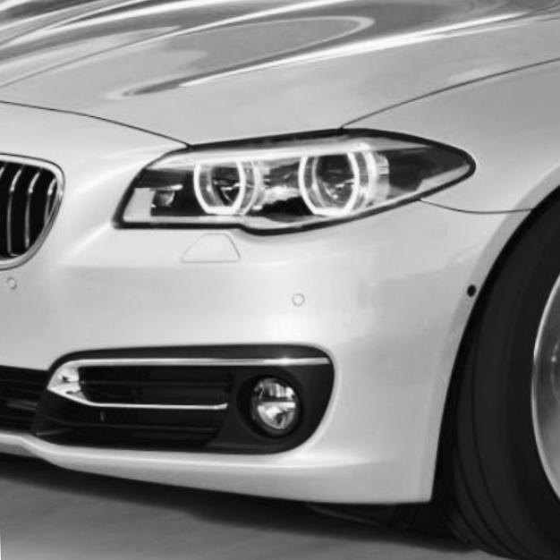 BMW 520d XDrive Touring (2016) Däcktryckstabell