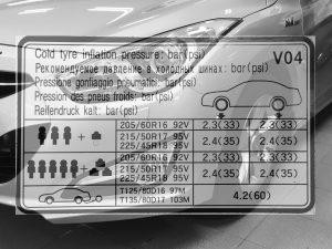 Däcktryck Hyundai i40 CW 1,6 CRDi 2013