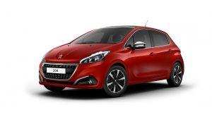 Hitta däcktryck till Däcktryck Peugeot 208 2017