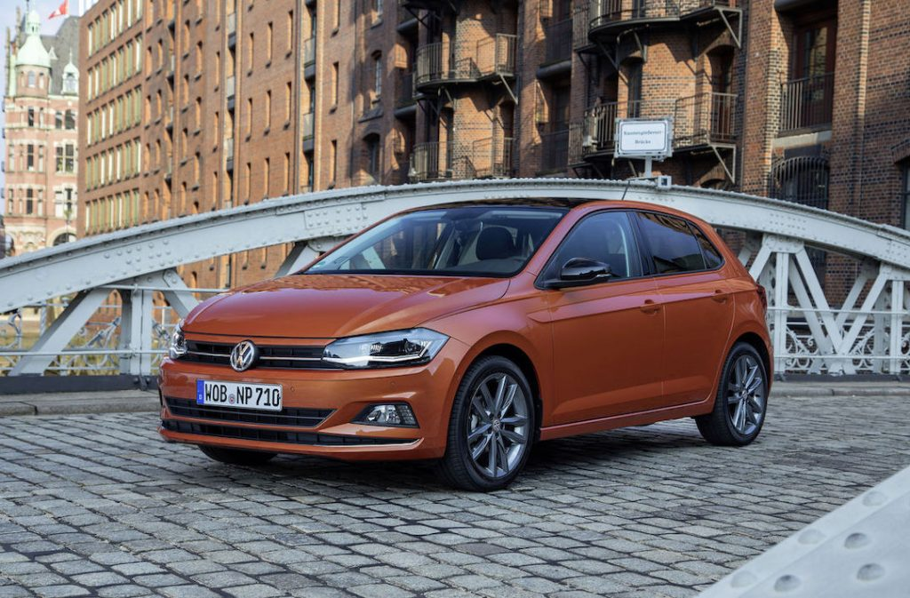 Finn dekktrykk Volkswagen Polo 2017