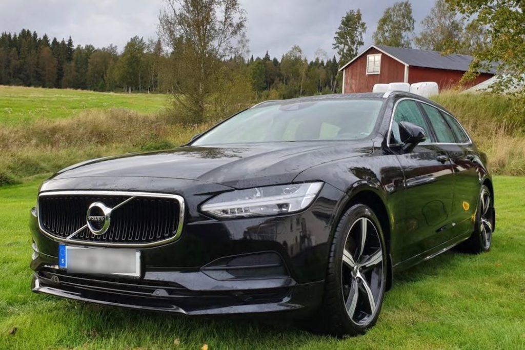 Däcktryck till Volvo V90 T4 Geartronic 190 2019